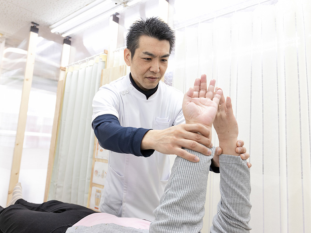 身体の痛みと向き合える方が効果を実感画像