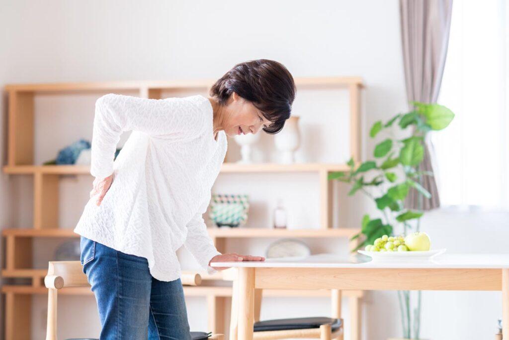 腰痛を引き起こす主な原因画像